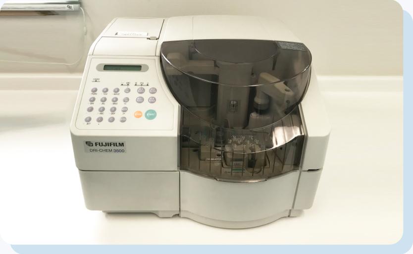 臨床化学分析装置(ドライケム)
